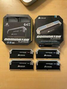 Corsair Dominator Platinum 64GB RGB (4x16GB) 3200MHz C16 RAM
