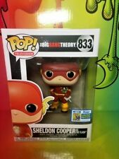"SDCC 2019 Funko Pop! The Big Bang Theory Sheldon Cooper As ""The Flash"" Official"