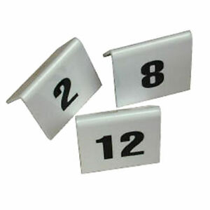 PLASTIC TABLE NUMBERS SET 1 TO 25 Restaurant Pub cafe