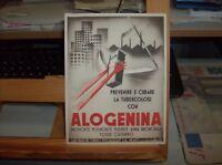 grafica futurista - 1937 stampa propagandistica ALOGENINA