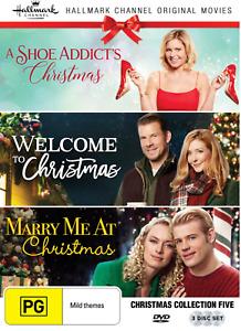 HALLMARK Christmas Collection 5 (DVD) Brand New / Sealed - Region 4