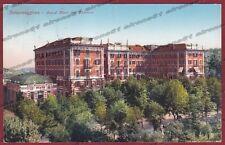 PARMA SALSOMAGGIORE TERME 131 HOTEL ALBERGO Cartolina viaggiata 1930