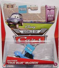 VOITURE DISNEY PIXAR CARS MATTHEW TRUE BLUE KING