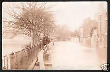 Shrewsbury. Floods. Coleham.