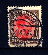 DANIMARCA - 1918/20 - Cristiano X - Tipi del 1913/1918. Serie ordinaria
