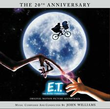 E.T. L'EXTRA TERRESTRE (MUSIQUE DE FILM) - JOHN WILLIAMS (CD)