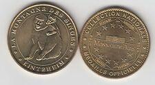 Gertbrolen KINTZHEIM 2005 La montagne des singes Médaille Monnaie de Paris