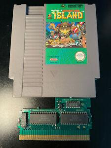 Adventure Island (Nintendo NES 1988) *AUTHENTIC TESTED*