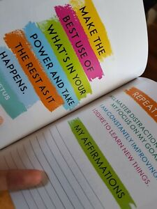 THE POSITIVE AFFIRMATIONS JOURNAL - mental health - gratitude - anxiety.