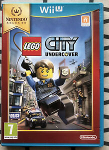 LEGO CITY UNDERCOVER - NINTENDO WII U - COMPLET - PAL FRA - NINTENDO SELECTS