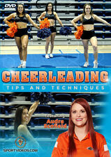 Cheerleading Tips and Techniques New DVD - Great gift for cheerleader or coach