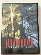 Highlander: The Search for Vengeance (Dvd, 2007) Like New