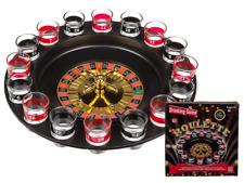 Juego de Beber Ruleta Ø 30cm Con 16 Vasos + 2 Bolas Drinking-Game Juego Fiesta