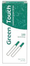 Lissamine Green Strips Box Of 100 Strips Sterile 1.5mg EXP OCT/2024 Free Ship