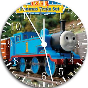 "Thomas Train wall Clock 10"" will be nice Gift and Room wall Decor W68"