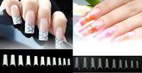 C Curve European Square 500PCS False Gel Acrylic Long Well-less French Nail Tips