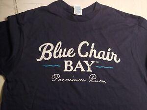 Blue Chair Bay Premium Rum T Shirt Mens Blue Born on the Beach MULTIPLE SIZES