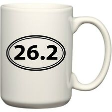 26.2 Full Marathon Coffee Mug Office Tea Cup For Runners Joggers by BeeGeeTees