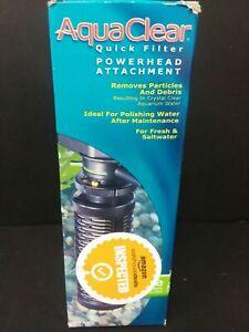 Aquaclear Quick Filter Powerhead Attachment Removes Particles & Debris