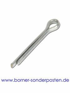 Splinte, Splint 4 x 32 DIN 94 Chrom genormt made in germany neu