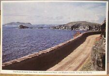Irish Postcard Road SLEA HEAD Dunmore Head Blaskets Kerry Ireland PC DeLuxe 177