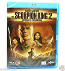 The Scorpion King 2 Rise of a Warrior Blu-Ray Regione B NUOVO SIGILLATO