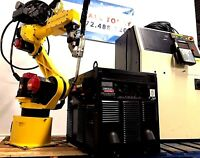 Fanuc Welding Industrial Robot Arcmate 100iB RJ3iB Lincoln i400 Tested Multi Qty