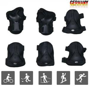 Protektoren Erwachsenen Schoner Knie Handgelenk Ellenbogen Schutzausrüstung DE