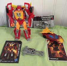 Transformers Hasbro Titans Return Hot Rod/Firedrive + Combiner Wars Rodimus OOB