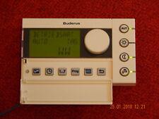 BUDERUS Raumcontroller RC30*1 EMS,geprüft ist 100% funktionsfähig, guter Zustand
