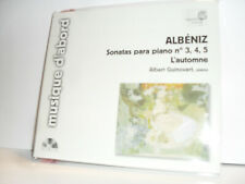 Albeniz - Sonatas Para Piano No 3, 4, 5 / L'Automne -Albert Guinovart