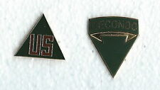 2 US ARMY BADGES  RECONDO AND US