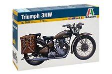 1:9 ITALERI Triumph 3WH Solo WWII Motorbike. Model Kit. #7402