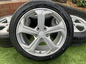 """Genuine 18"""" VW Transporter T6 T5.1 T5 Sportline Alloy wheels & Tyres 5x120 £"""
