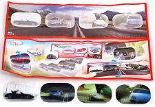 Überraschungsei Spielzeug DC069 mit BPZ Porsche 3D Wackelbilder Satz UeEi