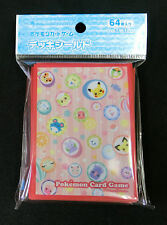 Pokemon Card Sleeve Pokemon On the Japanese Traditional Candy (64) 66x92mm Japan