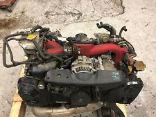 SUBARU IMPREZA WRX STI V8 V9 TWINSCROLL COMPLETE JDM ENGINE WITH VF37 TURBO -JDM