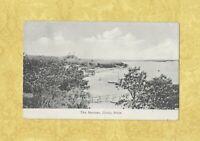 MA Cotuit 1908-14 antique postcard THE NARROWS MASS