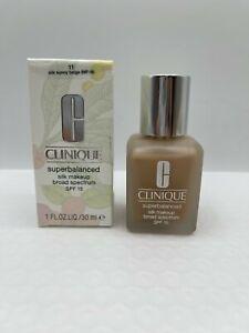 Clinique Superbalanced Silk Makeup SPF15 Choose Shade  NIB