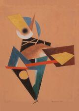 The Clown, 1919, Alexander Rodchenko Vintage Constructivism Poster