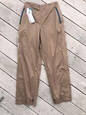 Sun Mountain Ladies Rainflex Pant Brown Waterproof Breathable Size L $129.95