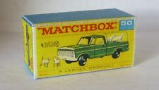 Repro Box Matchbox 1:75 Nr.50 Kennel Truck