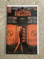 Electric Black (Scout Comics) 1A 2019 Woodall Variant NM