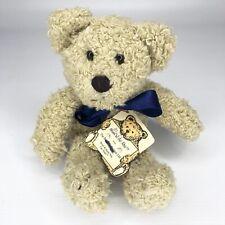 Boyds Bears In The Attic Vintage Plush Bear Muffin Oatmeal Shaggy