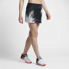 Nike Court Womens Power Spin Skirt Premier Black Ghost XS (UK 8)
