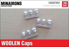 Minairons 1:72 accessories - Woolen caps - 20mm Spanish Civil War