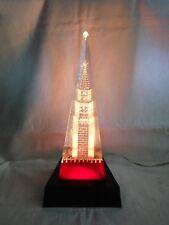 Vintage night light lamp Kremlin tower red Soviet USSR