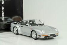 1987 Porsche 911 959 Argent Diecast 1:18 Minichamps