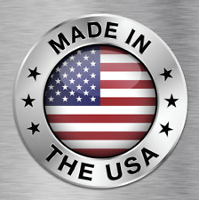 MADE IN USA US AMERICA UNITED STATES VINYL DECAL VEHICLE CAR WALL LAPTOP NEW