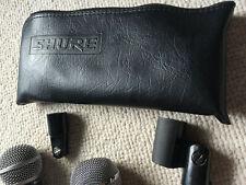 Shure SM58, Shure PE588, cords, etc.